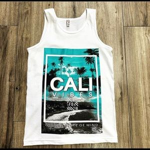 Other - Men tank top cali vibes